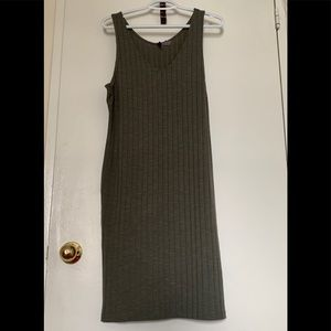 DIVIDED by H&M Ribbed Bodycon Dress NWOT
